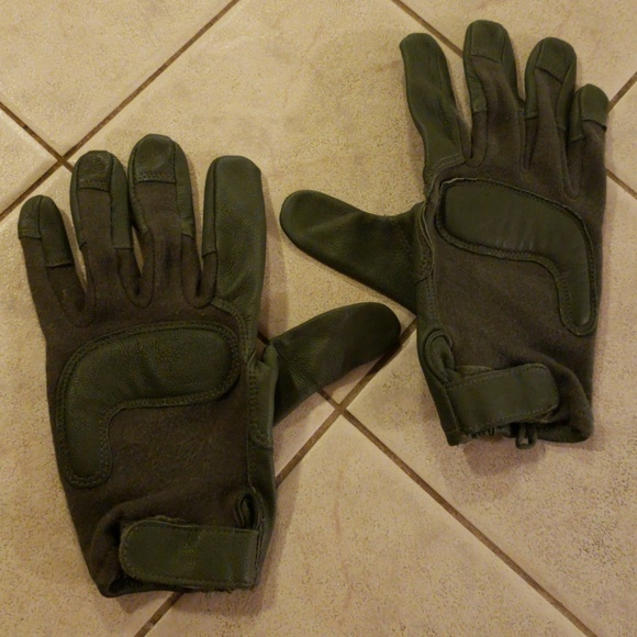Army Combat Glove Green Extra Large XL Men's
